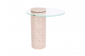 Rosalina terrazzo sidebord - Pink