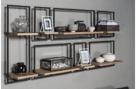 Skab din egen hyggelige opbevaring med de hyggelige og varme hylder i eg fra Shelfmate.