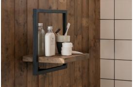 Shelfmate hylderne kan også bruges til opbevaring i dit badeværelse.