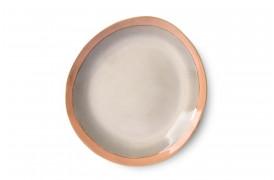 Sidetallerken - Earth fra serien 70'er keramik.