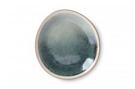 Sidetallerken i nuancen Mist fra 70'er keramik serien.