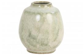 Sinabung vasen fra Boshop Collection er lavet af smuk keramik i en rolig mintgrøn nuance.
