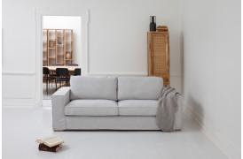 Abbe er en behagelig sofa med komfortable og bløde siddehynder fra Sits.