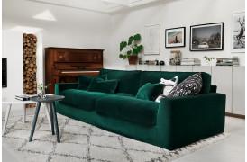 Sits stofsofaen med navnet New York ses her i farven LARIO - Green.