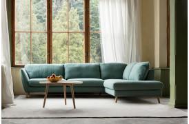 Stella er en behagelig sofa med et let og stilfuldt look i skandinavisk stil fra Sits.