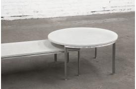 Sammensæt dine Urban sofaborde, som du selv ønsker her i Beton - lysegrå.