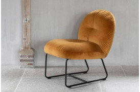 Bouton lounge stol