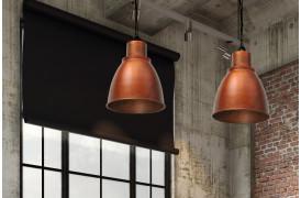 Campo er en industriel loftslampe og pendel der kan fås i flere farver.