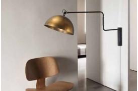 Industriel væglampe til boligen med Larino lamperne hos BoShop.