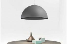 Industriel lampe i betonlook med Larino Concrete lamperne hos BoShop.