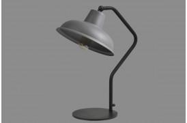 Smokestack lampen består af en tofarvet lampeskærm.
