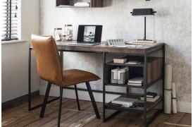 Inspiration til rustik indretning med skrivebord.