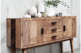 Interesseret i møbler med det rustikke look.