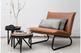 Hvordan sammensætter du en lounge stol med rustik indretning.