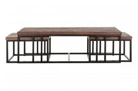 Her ses et billede af Timber sofabordssæt fra Smokestack.