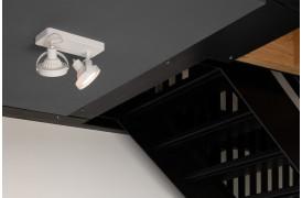 Her ses et billede af Dice spot 2 i hvid fra Zuiver.
