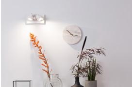 Her ses et billede af Luci spot 2 i hvid fra Zuiver.