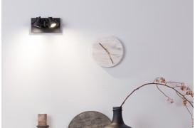 Her ses et billede af Luci spot 2 i sort fra Zuiver.