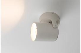 Her ses et billede af Valon spot 1 i hvid fra Zuiver.