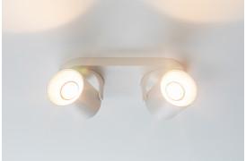 Her ses et billede af Valon spot med to LED-pærer fra Zuiver.