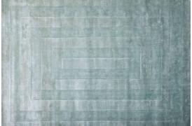 Square tæppe - Lyseblå