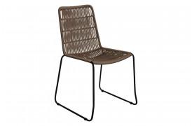 Her ses et billede af Rope slim spisebordsstol i neutral fra vores Unika Collection.