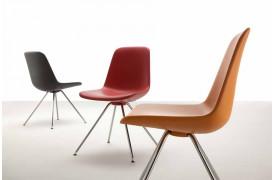 Tonon spisebordsstolen Step metal med Soft touch er en moderne spisebordsstol til boligen.