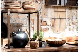 Her ses et billede af Factory sidebord med metal ramme fra vores Unika Collection.