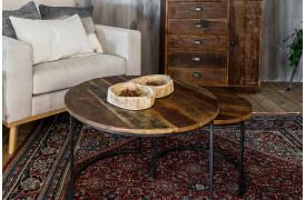 Her ses et billede af Factory sofaborde sæt fra vores Unika Collection.