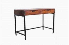 Her ses et billede af Factory skrivebord med to skuffer fra vores Unika Collection.