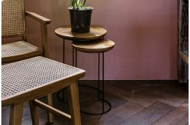 Her ses et billede af Loft nesting sidebord sæt fra vores Unika Collection.