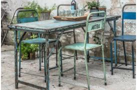 Her ses et billede af Market bord i blå fra vores Unika Collection.