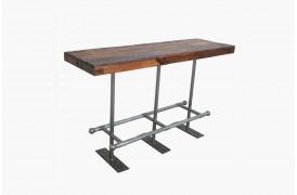 Her ses et billede af Market barbord med jernstel fra vores Unika Collection.