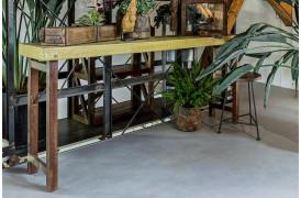 Her ses et billede af Unika konsolbord i oker fra vores Unika Collection.