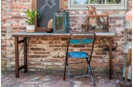 Her ses et billede af Unika konsolbord med zink bordplade fra vores Unika Collection.