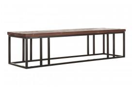 Her ses et billede af den lange version af Timber sofabordet fra Smokestack.