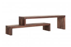 Her ses et billede af Timber tv-bord med udtræk fra Smokestack.