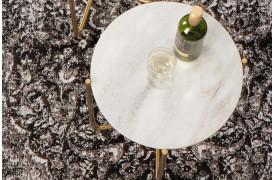 Her ses et billede af Timpa marmor sidebordet i hvid fra Decoholic.