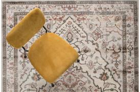 Trijntje tæppe - Rose / olive
