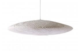 Smuk loftslampe / pendel lavet af rispapir og bambus.