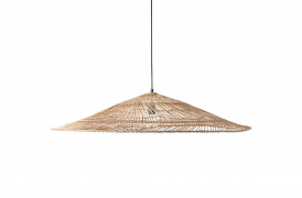 Wicker pendel triangel - natural fra HKliving.