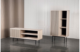 Akustik opbevaringsserien er designet med et ønske om at forbedre akustikken i boligen.