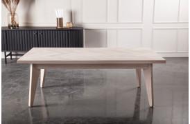 Patricier sofabordet er et bord med sildebensmønster fra Wood by Kristensen.
