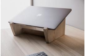 Smart Desk laptop holder til en laptop / bærbar computer er en del af en kontorserie.