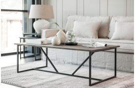 ZET-serien er en nyhed fra Wood by Kristensen her med et af sofabordene fra møbelserien.