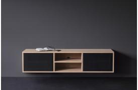 ZET-serien er en nyhed fra Wood by Kristensen her med et af tv-bordene fra møbelserien.