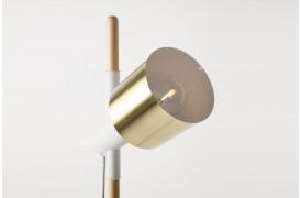 Ivy bordlampe fra Zuiver kan justeres op og ned ved hjælp af gummiringene.