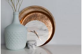 Marmor ur til boligen med Marble Time fra Zuiver, køb det her.