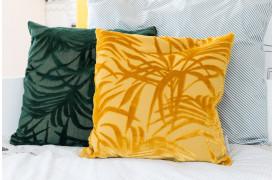 Puder med mønster som en plante pryder Miami puderne.