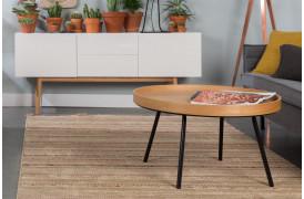 Smart sofabord på nettet med Zuiver sofabordet Oak Tray.